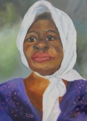 African American lady by Sherry Joiner