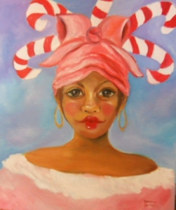 Candy Cane Girl