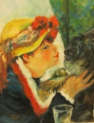 Memory to Renoir by Sherry Joiner