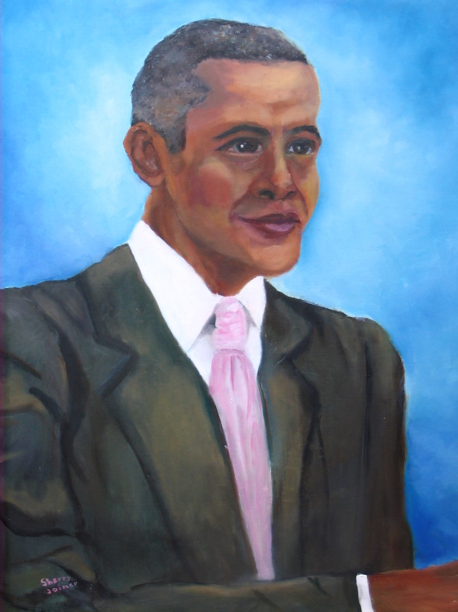 President Obama by Sherry Joiner