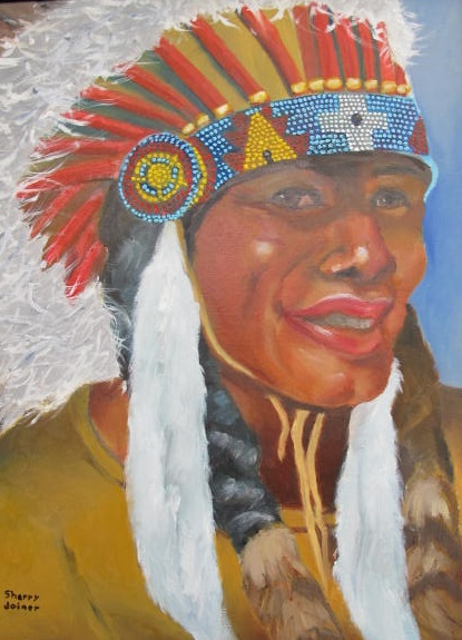 Roseburg High Indian by Sherry Joiner