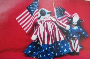 My 4th of July dolls