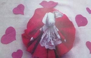 My Miss Piggy Valentine doll