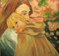 Carrying Le Ann home by Sherry Joiner