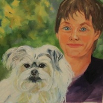 Jeana and Chloe by Sherry Joiner