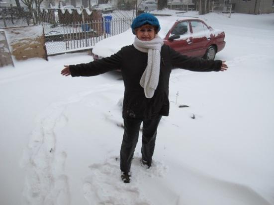 Hi Julie, Snow for my birthday