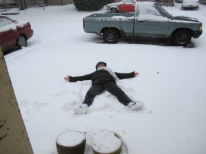 Hi Alice, Snow angel from Portland