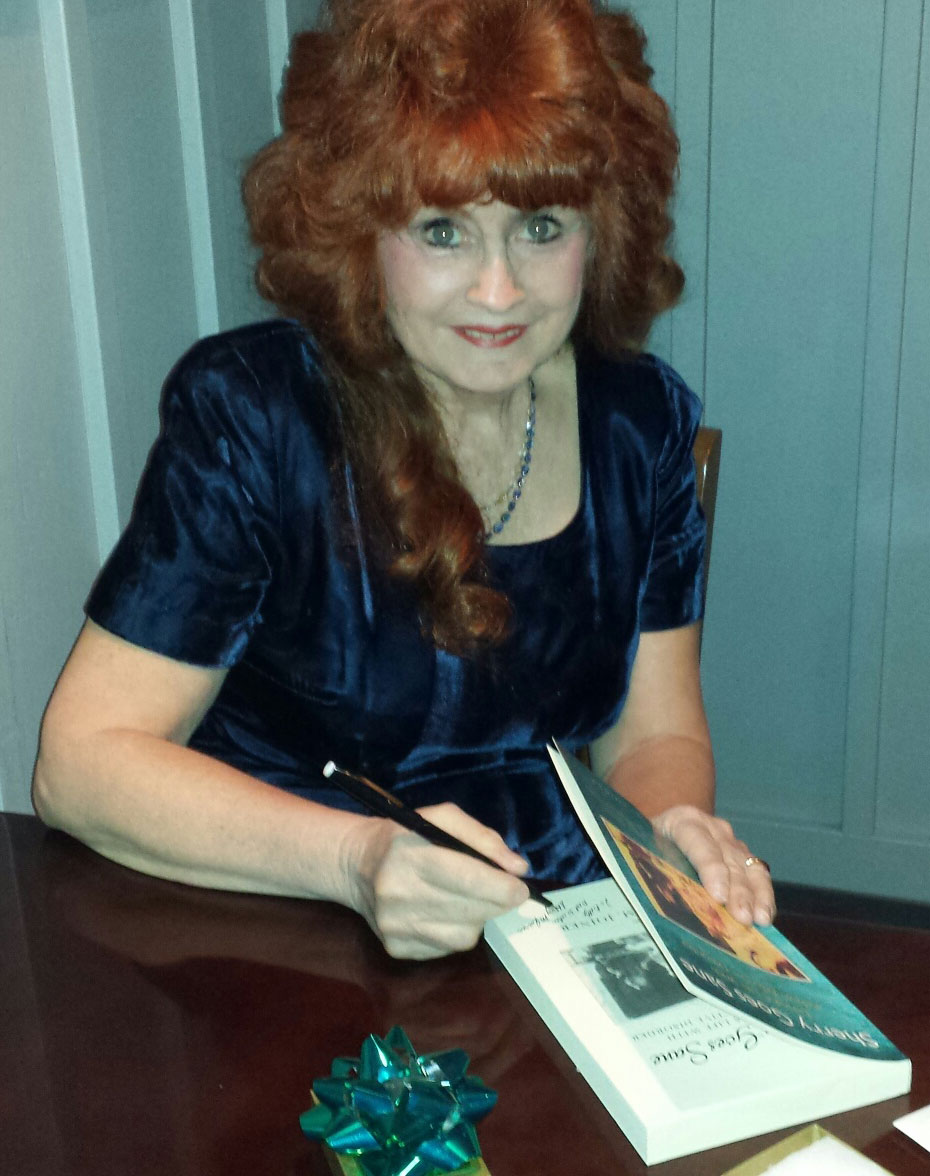 Sherry M. Joiner, signing Sherry Goes Sane