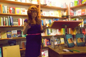 My Author Talk at Bloomsbury Books