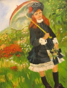 My Renoir painting of Springtime