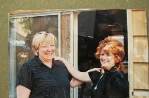 My half sister Shauna and me 2004