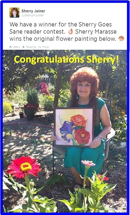 tweet added pic flower winner