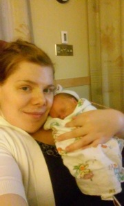 My Great Granddaughter, Phoebe and her mom, my granddaughter Tiffany