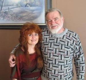 Joe and me on his 69th