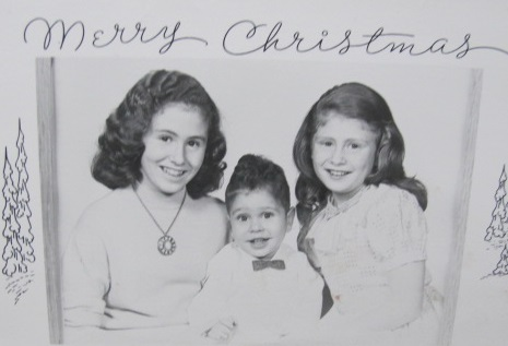 Diana, Doug, Me- 53 years ago