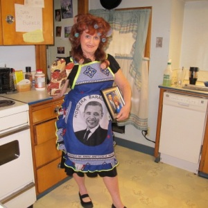 Farewell to President Obama-African made Apron