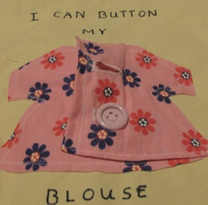 I Can Button My Blouse, Phoebe's book
