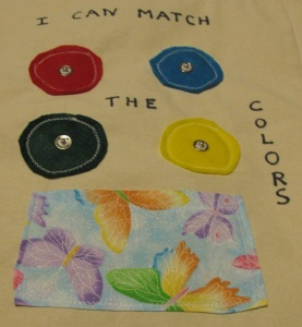 """""""I Can Match The Colors"""""""