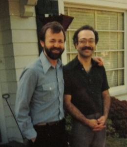My brother, Doug (right), and his friend, Doug A. (left)