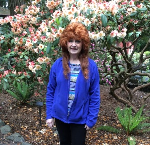 Me at the Rhodie Garden
