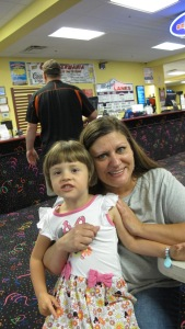 Aunt Tammy and Kylie