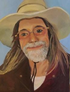 My portrait of Martin Baker