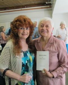 Author Mitzi Loftus and Me