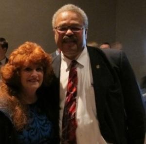 Me and Representative Lew Fredrick