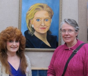 Me and Diane Rulien taken with Hillary
