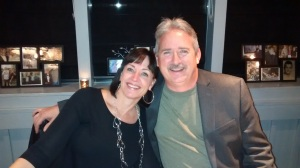 Stepdaughter, Cathy, and husband, Mike