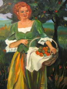 'Picking Apples'