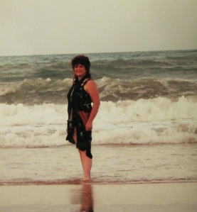 Me on the beach at Natal, Brazil