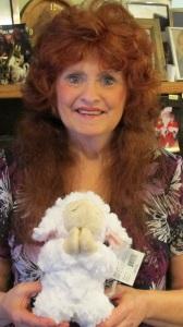 Praying Lamb Doll and Me