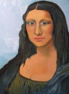 'Modern Mona Lisa'