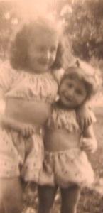 My sister, Diana and Me at Liberty Park