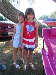 Kylie and Kayla