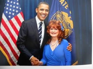 President Obama and Me