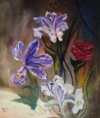 Irisis in bloom